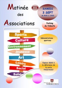 affiche matinée des associations 2016 - Copie